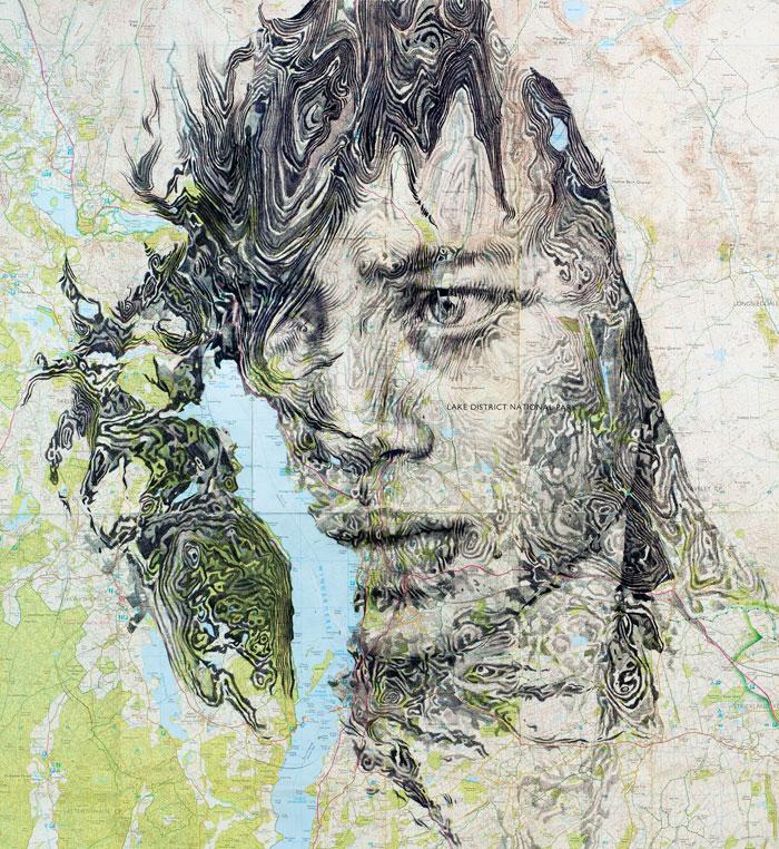 portraits drawn on maps by ed fairburn (12)