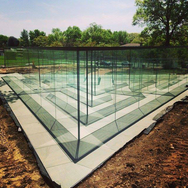 the glass labyrinth by robert morris at the donald j hall sculpture park (3)