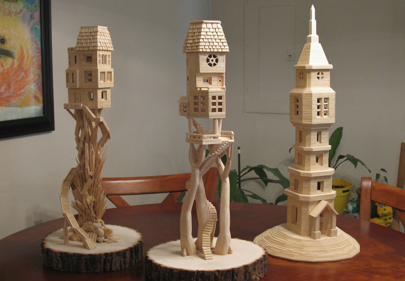 toothpick sculptures by bob morehead 4 This Guy is Taking Balloon Art to the Next Level