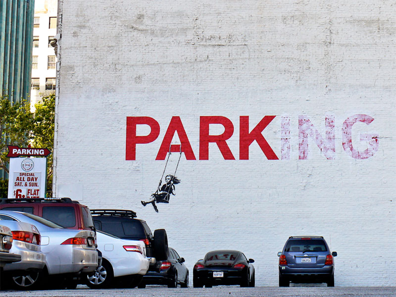 banksy 19 Shipping Gods by Pichi and Avo