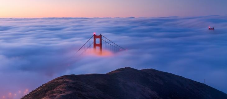 blue hour golden gate bridge san francisco fog (1)