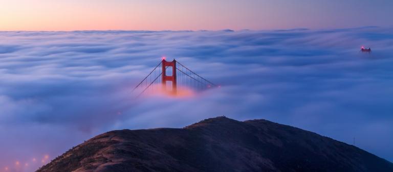blue hour golden gate bridge san francisco fog (1)