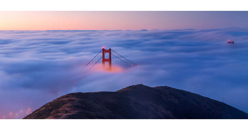 Picture of the Day: Blue Hour at theBridge
