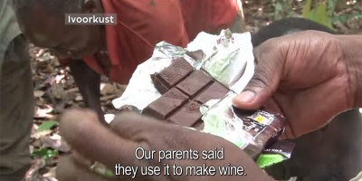 Cocoa Farmers Tasting Chocolate for the First Time in their Lives