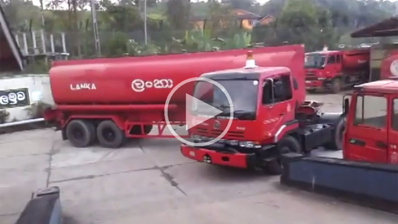 fuel-truck-tightest-u-turn-ever