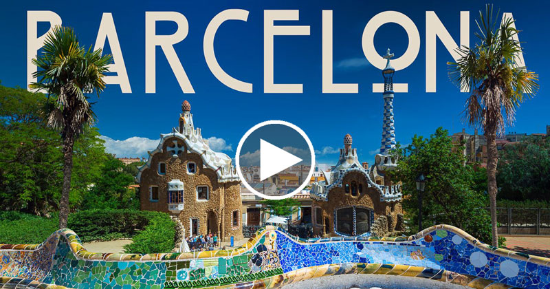 "A ""Fast Moving Short Film"" Tour of Barcelona"