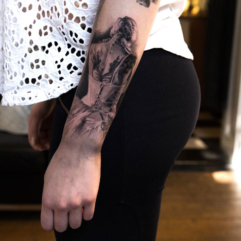 insanely detailed sleeve tattoos by niki norberg twistedsifter