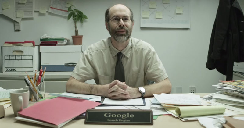 What If Google Was a Guy You Met In-Person to Ask Things?