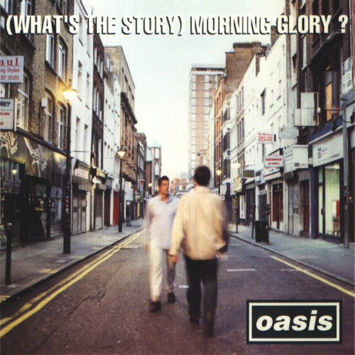 oasis whats-the-story-morning-glory album cover