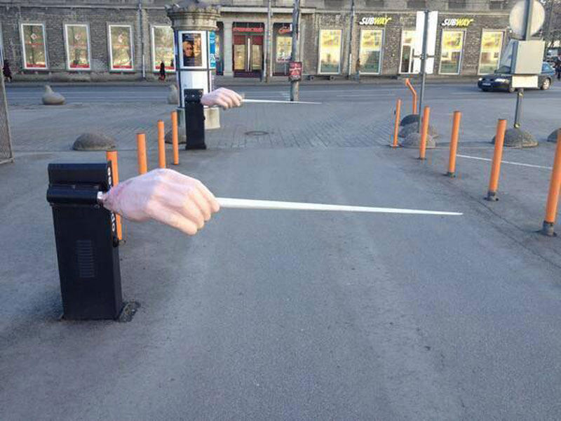 Picture of the Day: The Estonian National Opera Parking Entrance