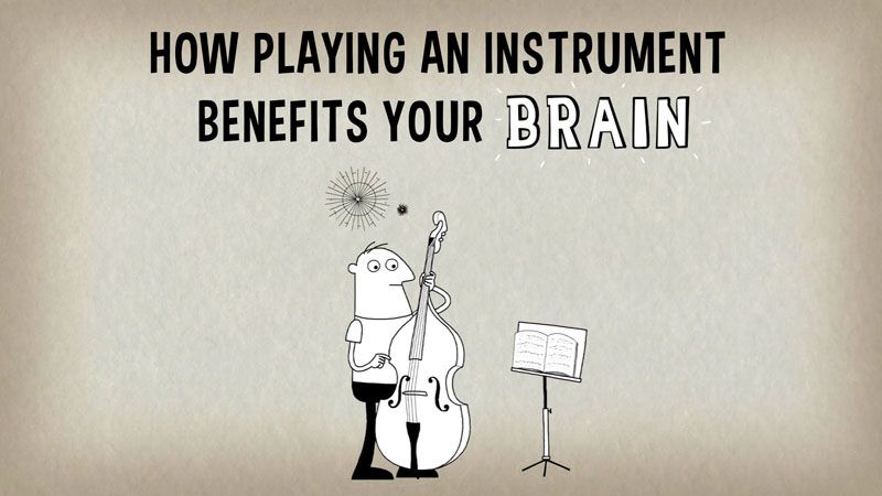 How Playing an Instrument Creates Fireworks in Your Brain