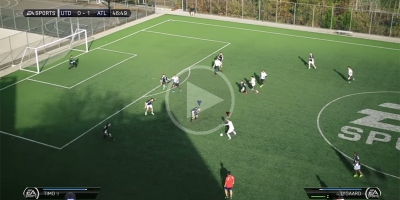 Someone Made a Real-Life Video Game Version ofFIFA