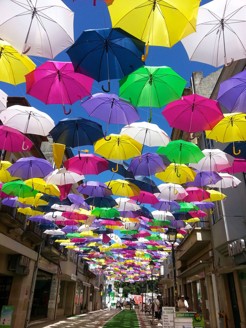 umbrella sky project 2014 agueda portugal Picture of the Day: Umbrella Sky
