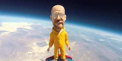 A Walter White Bobblehead Got Sent to Space and Came Down asHeisenberg