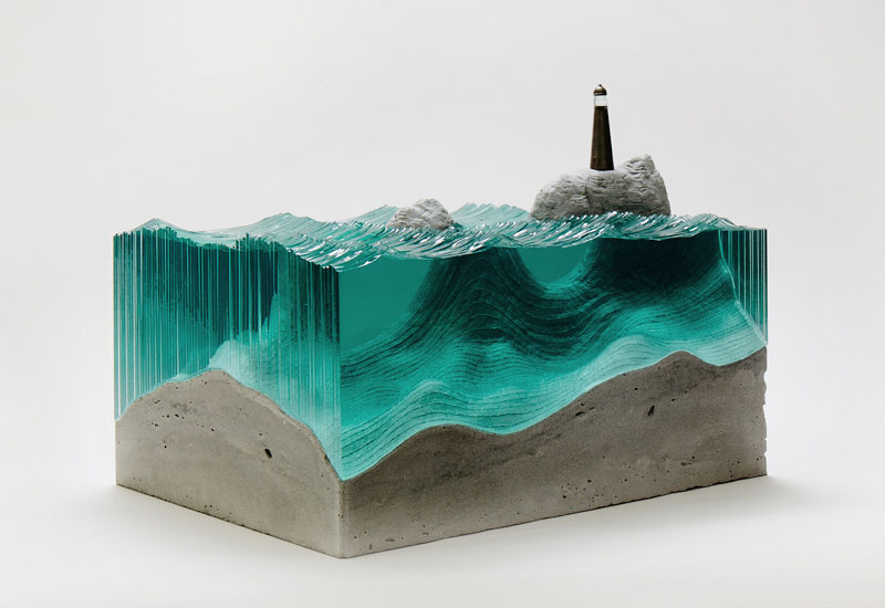 Waves of Cut Glass by BenYoung