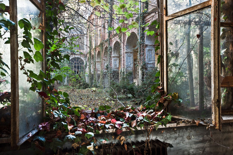Picture of the Day: AbandonedCourtyard
