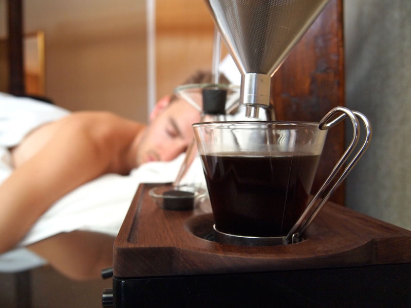 Alarm Clock wakes You Up With Fresh Cup of Coffee the barisieur by joshua renouf (3)