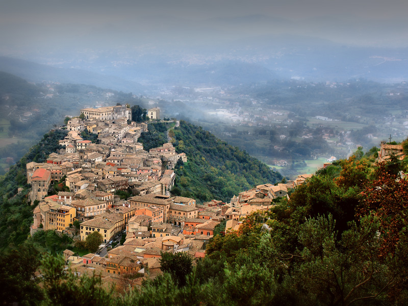 Picture of the Day: Arpino, Italy