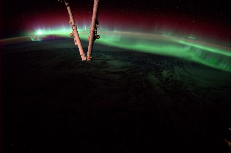 Aurora s from space pictures