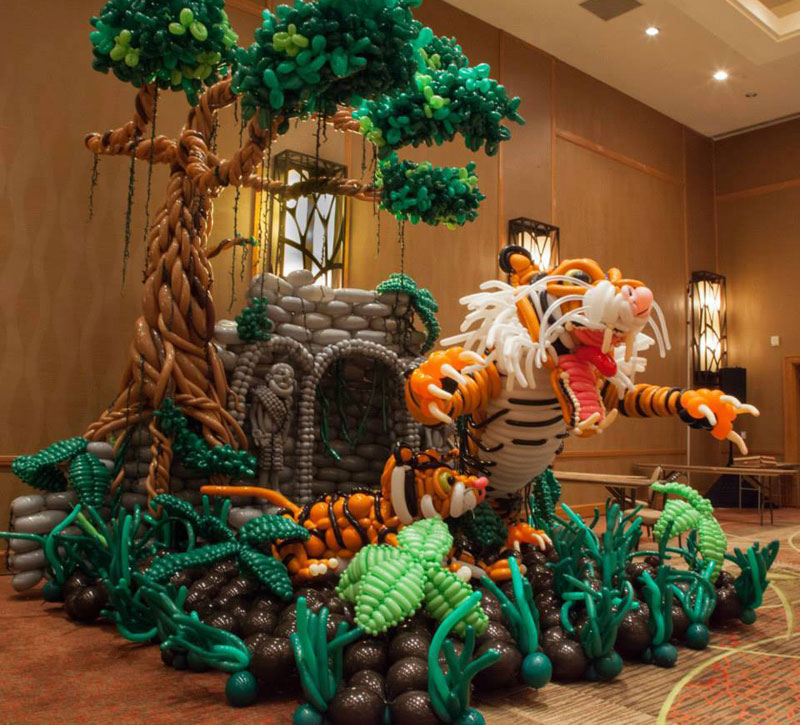 This Guy is Taking Balloon Art to the NextLevel
