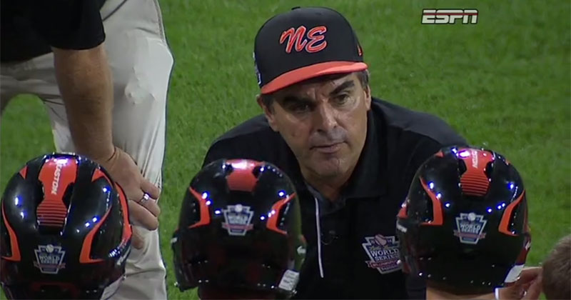 Coach Gives Heartfelt Speech After Team Gets Eliminated from Little League World Series