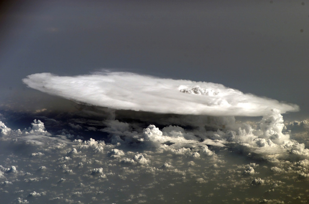 Picture of the Day: Cumulonimbus Cloud over Africa