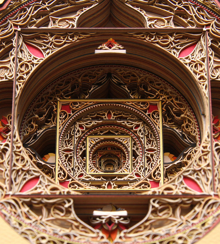 detail2 This is What 100 Sheets of Stacked, Laser Cut Paper Looks Like