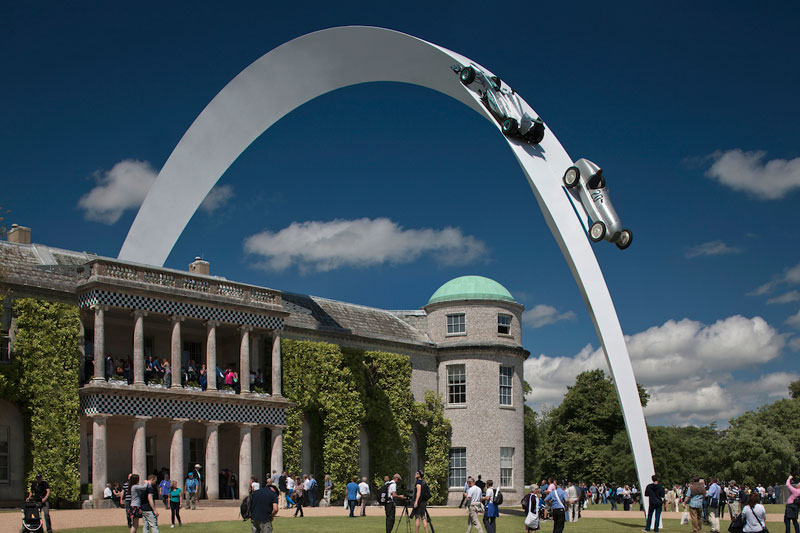 goodwood festival of speed sculptures by gerry judah (1)