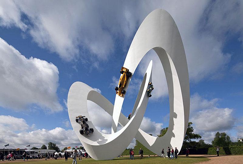 goodwood festival of speed sculptures by gerry judah (10)