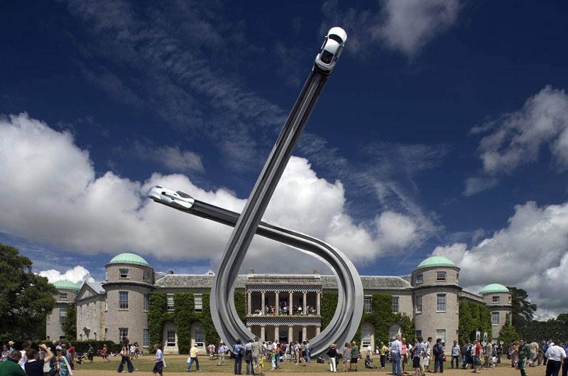 goodwood festival of speed sculptures by gerry judah (11)