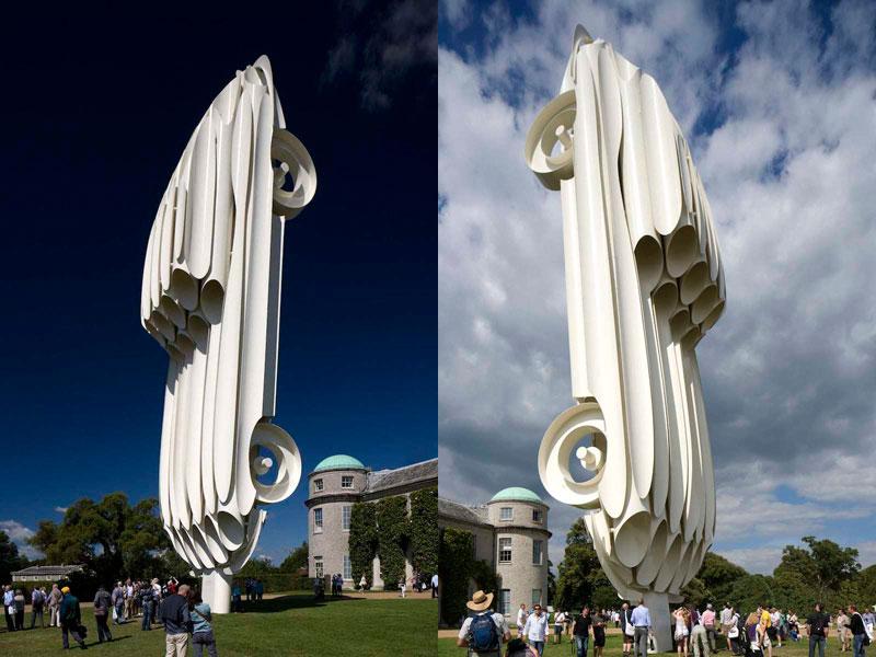 goodwood festival of speed sculptures by gerry judah (17)