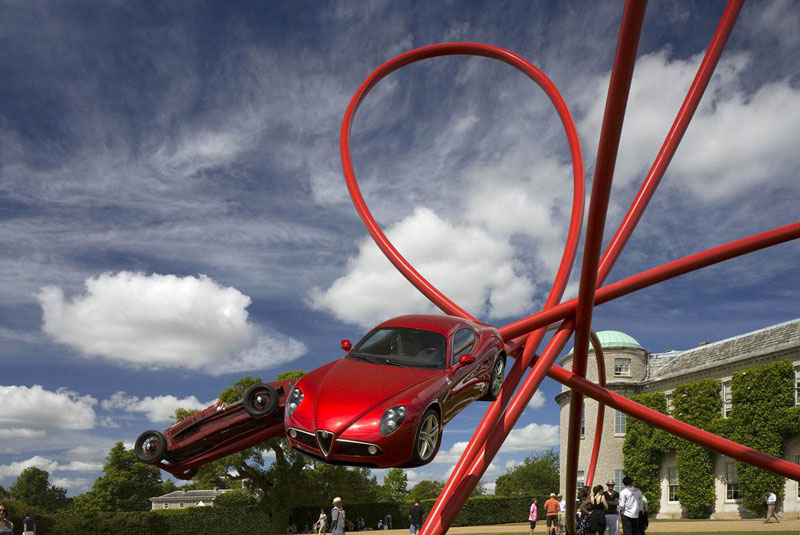 goodwood festival of speed sculptures by gerry judah (20)