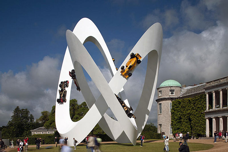 goodwood festival of speed sculptures by gerry judah (8)