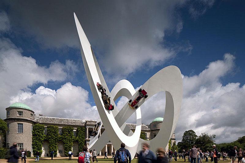 goodwood festival of speed sculptures by gerry judah (9)