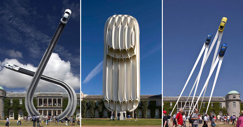 The Impossible Car Sculptures of GerryJudah