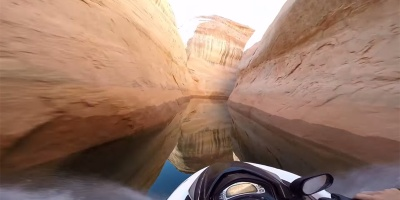 Jet Skiing Through the Canyons of LakePowell
