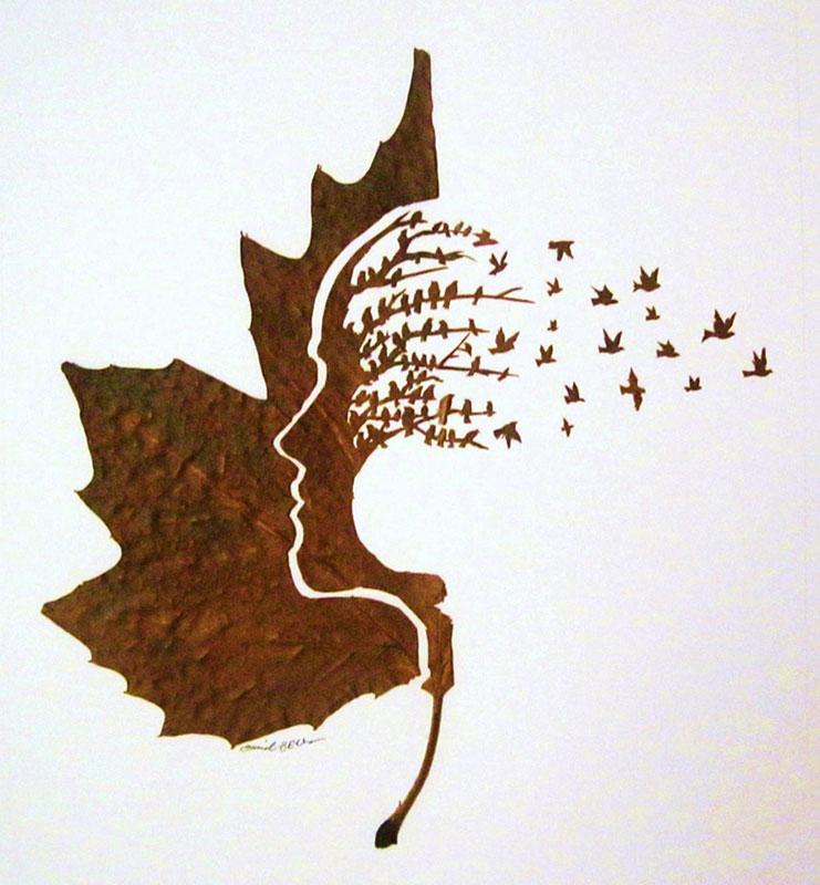 leaf cut art by omad asadi (1)