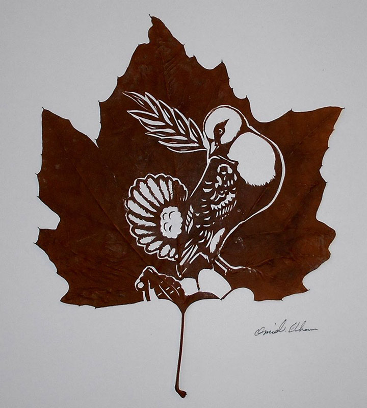 leaf cut art by omad asadi (15)
