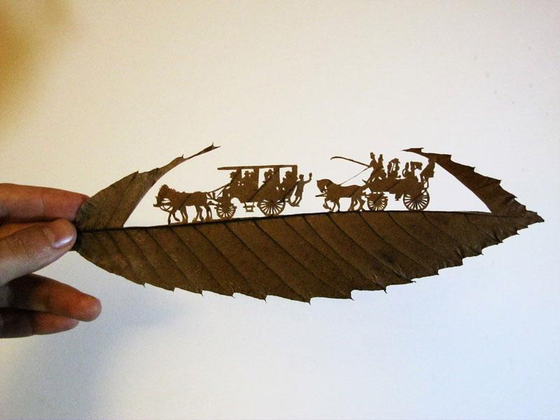 leaf cut art by omad asadi (8)