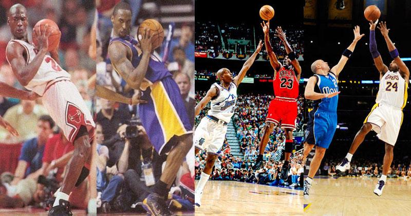 10cbeaeda98c Kobe Bryant vs Michael Jordan  Identical Plays «TwistedSifter