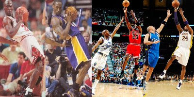 Kobe Bryant vs Michael Jordan: Identical Plays