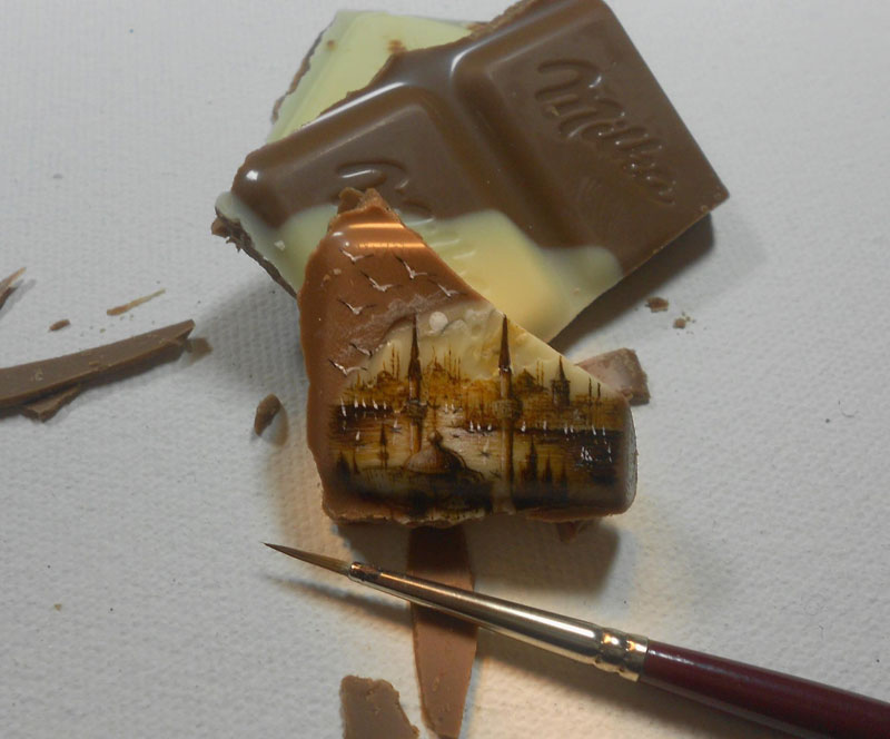 The 27 Tiniest Paintings You Will EverSee