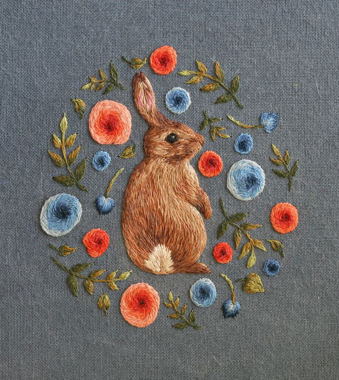 miniature animal embroideries by chloe giordano (1)