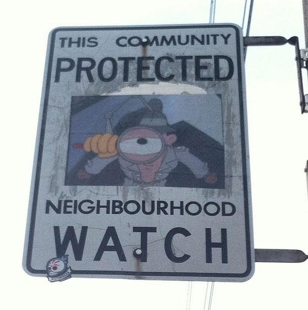 neighbourhood watch street art stickers andrew lamb (5)