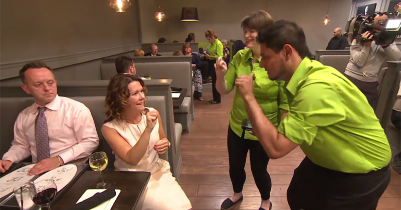 A Restaurant Staffed by Deaf Waiters and Waitresses