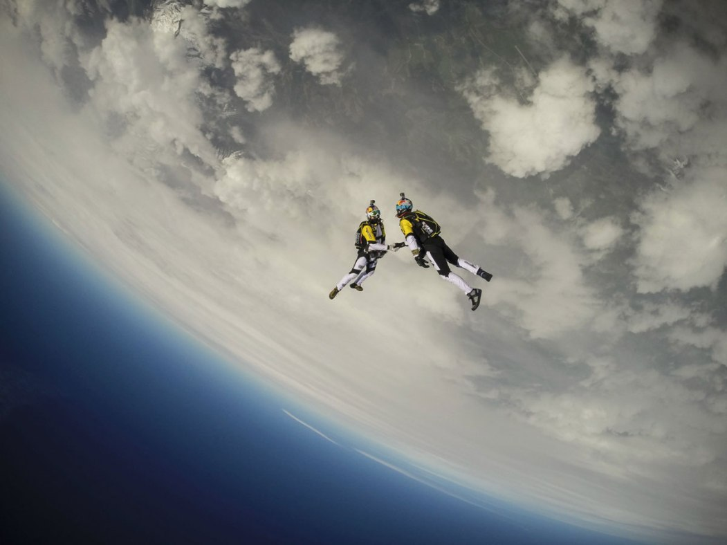 Picture of the Day: When SkydiversMeet