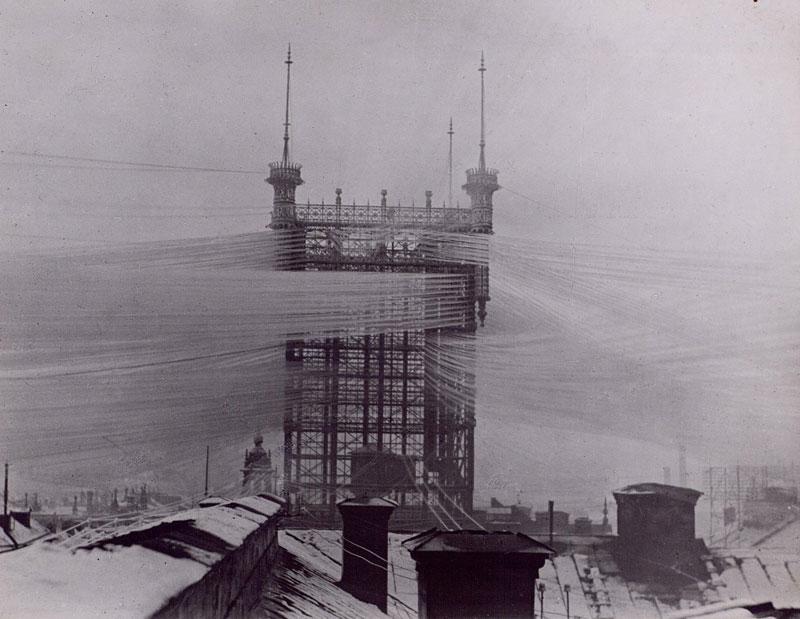 більше 5000 телефонних ліній у кінці 1800-тих, Стокгольм, Швеція