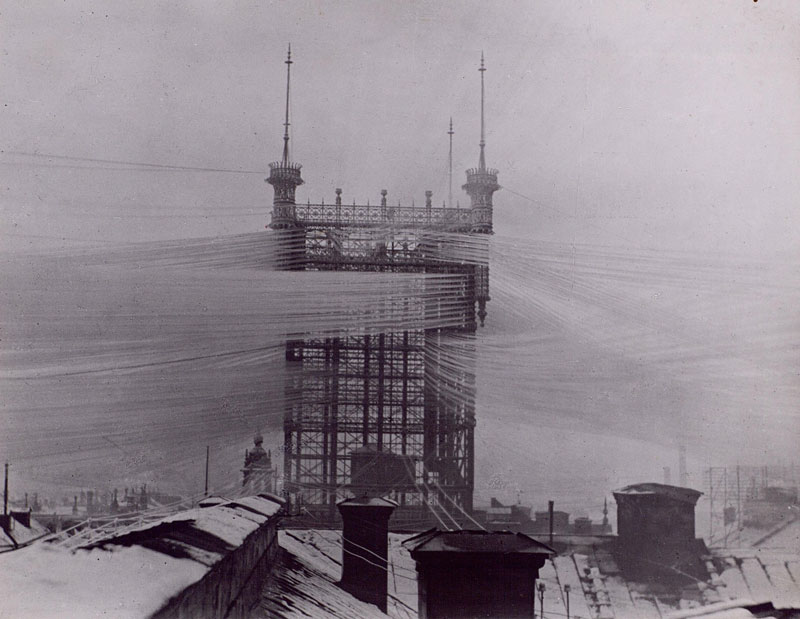 100 Years Ago this Telephone Tower in Stockholm Connected 5000 TelephoneLines