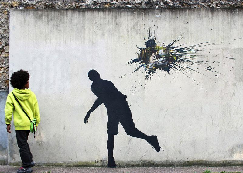 Street Art by Pejac [16photos]