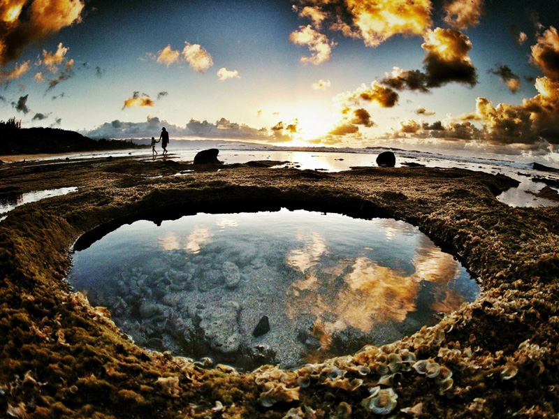 Picture Of The Day Tide Pools At Rocky Point Mexico